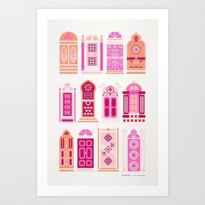 moroccan-doors-peach-palette-prints.jpg