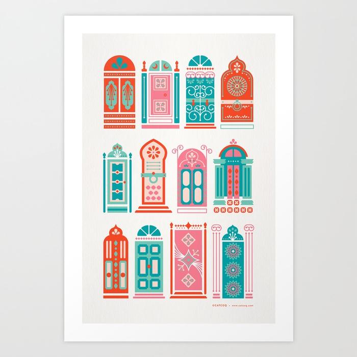 moroccan-doors-watermelon-palette-prints.jpg