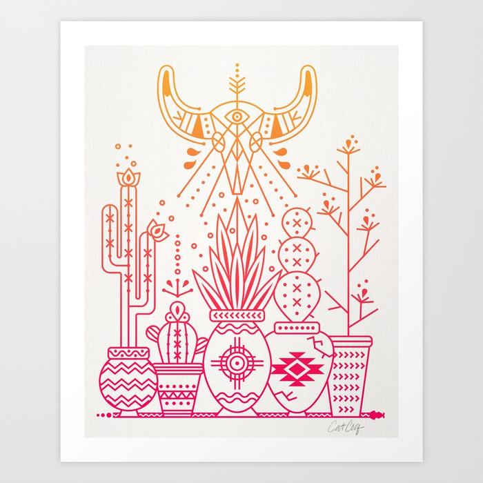 santa-fe-garden-pinkorange-ombre-prints.jpg