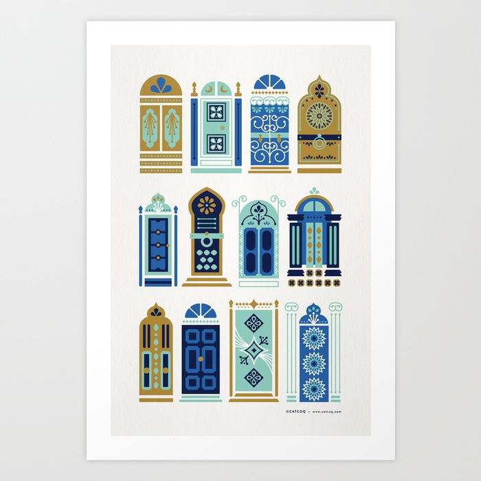 moroccan-doors-blue-gold-palette-prints.jpg