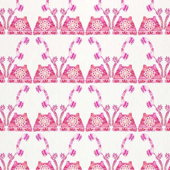 Pink-VintagePhone-pattern.jpg