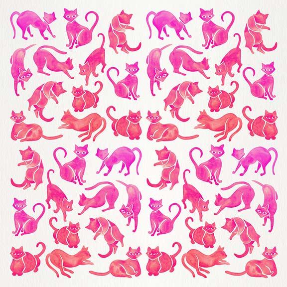 Pink-CatPositions-pattern.jpg
