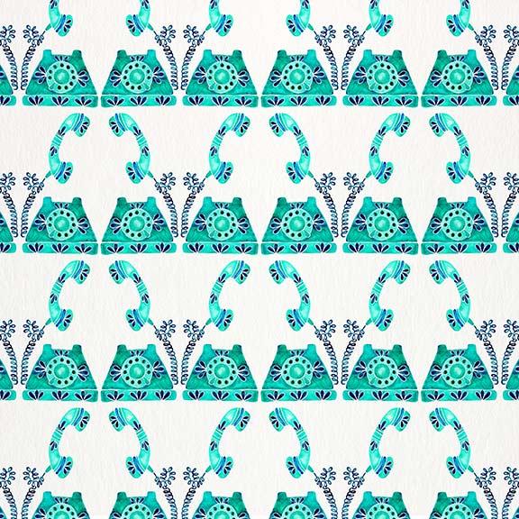 Turquoise-VintagePhone-pattern.jpg