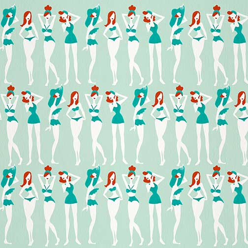 RedheadsOnMint-BeachBombshells-pattern.jpg