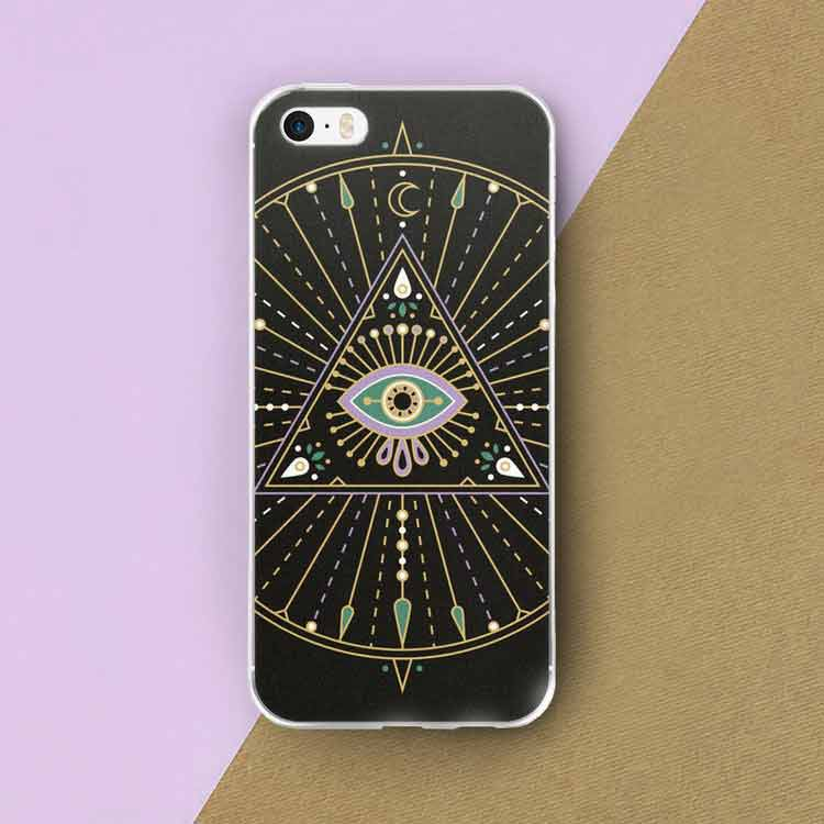 All-Seeing Eye Mandala iPhone Case   – $30