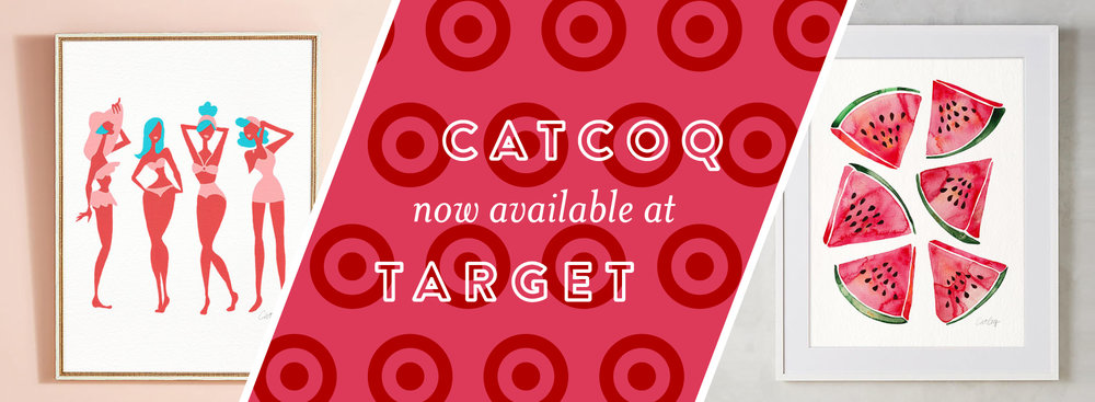 catcoq art prints now available at target catcoq
