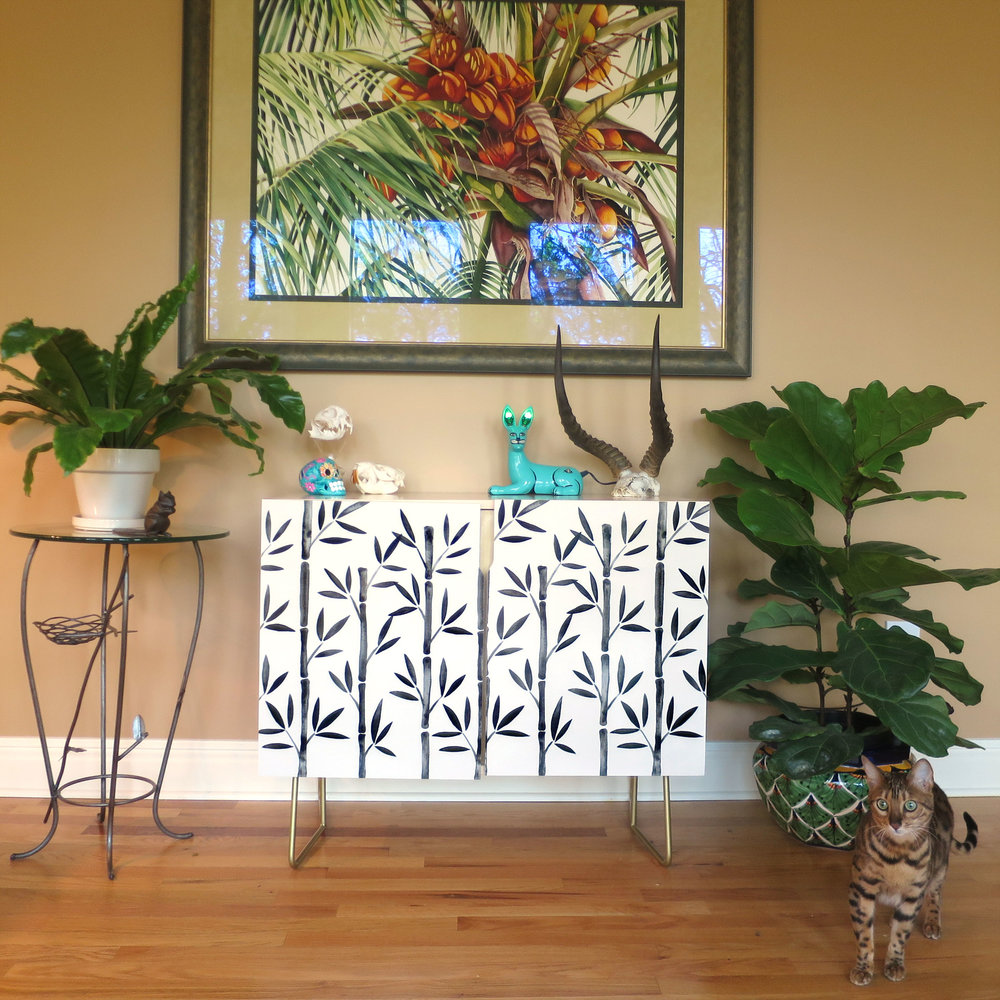"""""""Black Bamboo"""" credenza available  here ."""
