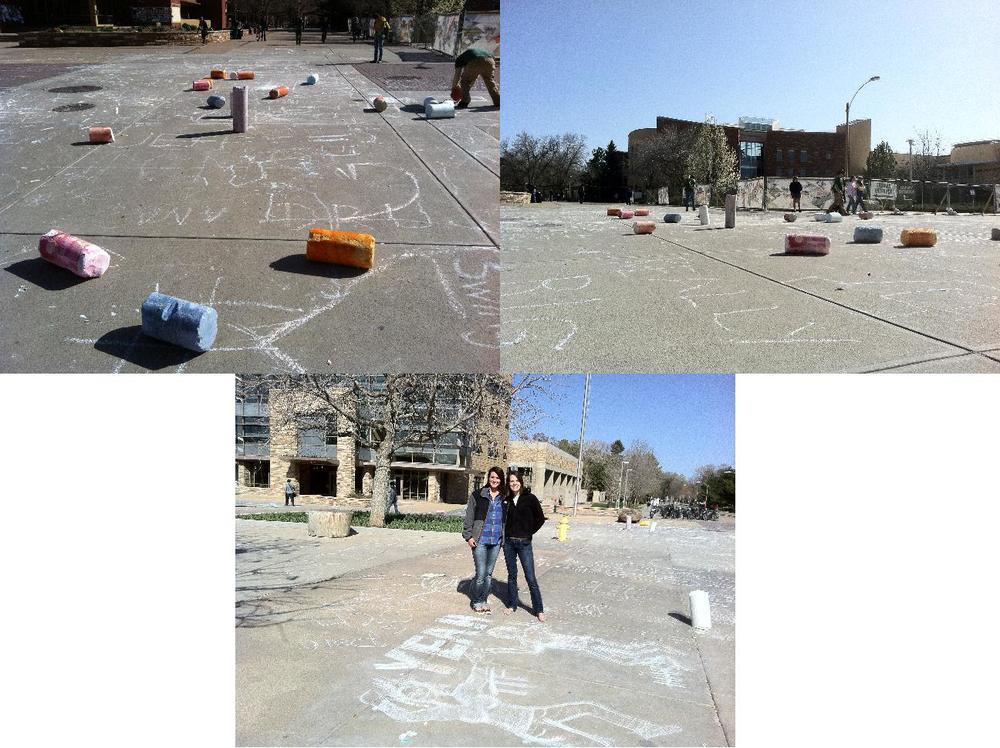 Public Art: Chalk Art
