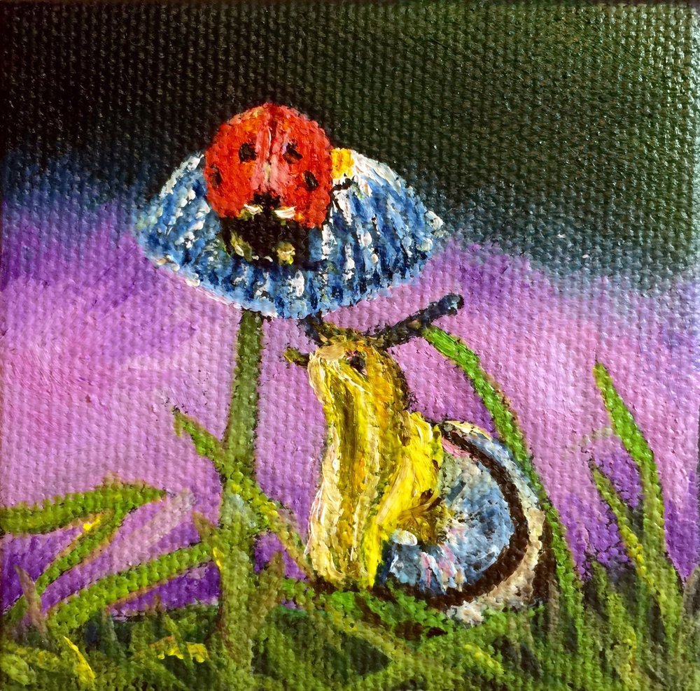 Lady Bug and Snail Mini