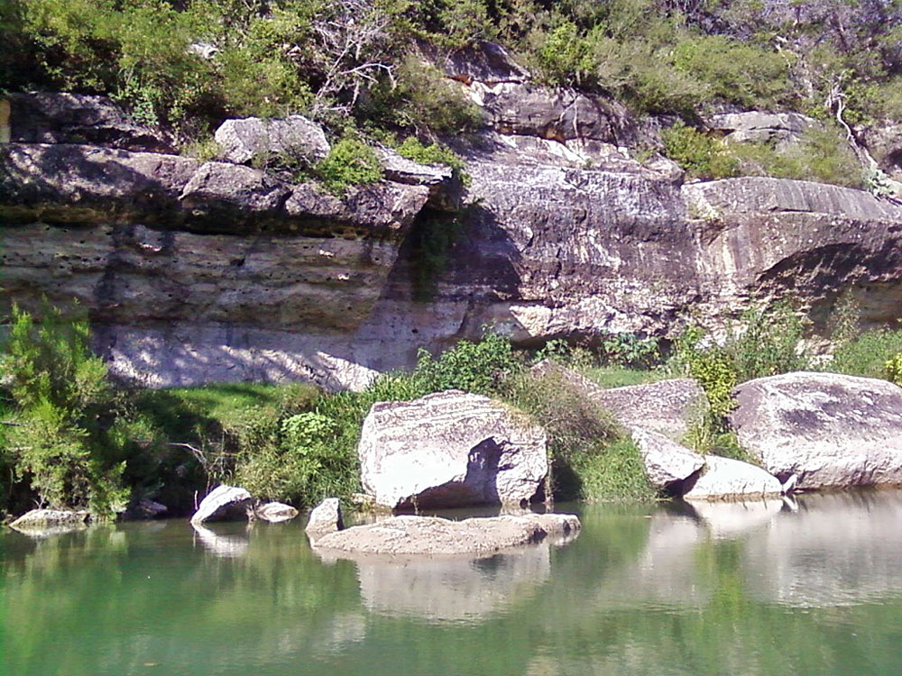 San Saba River Cliffs