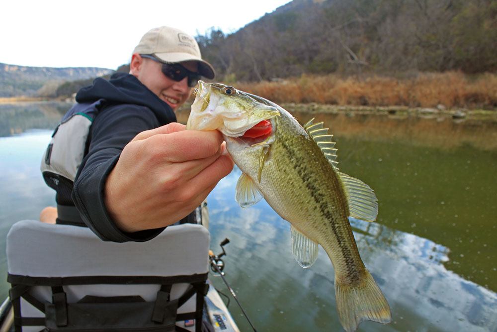 Brazos River Largemouth Bass