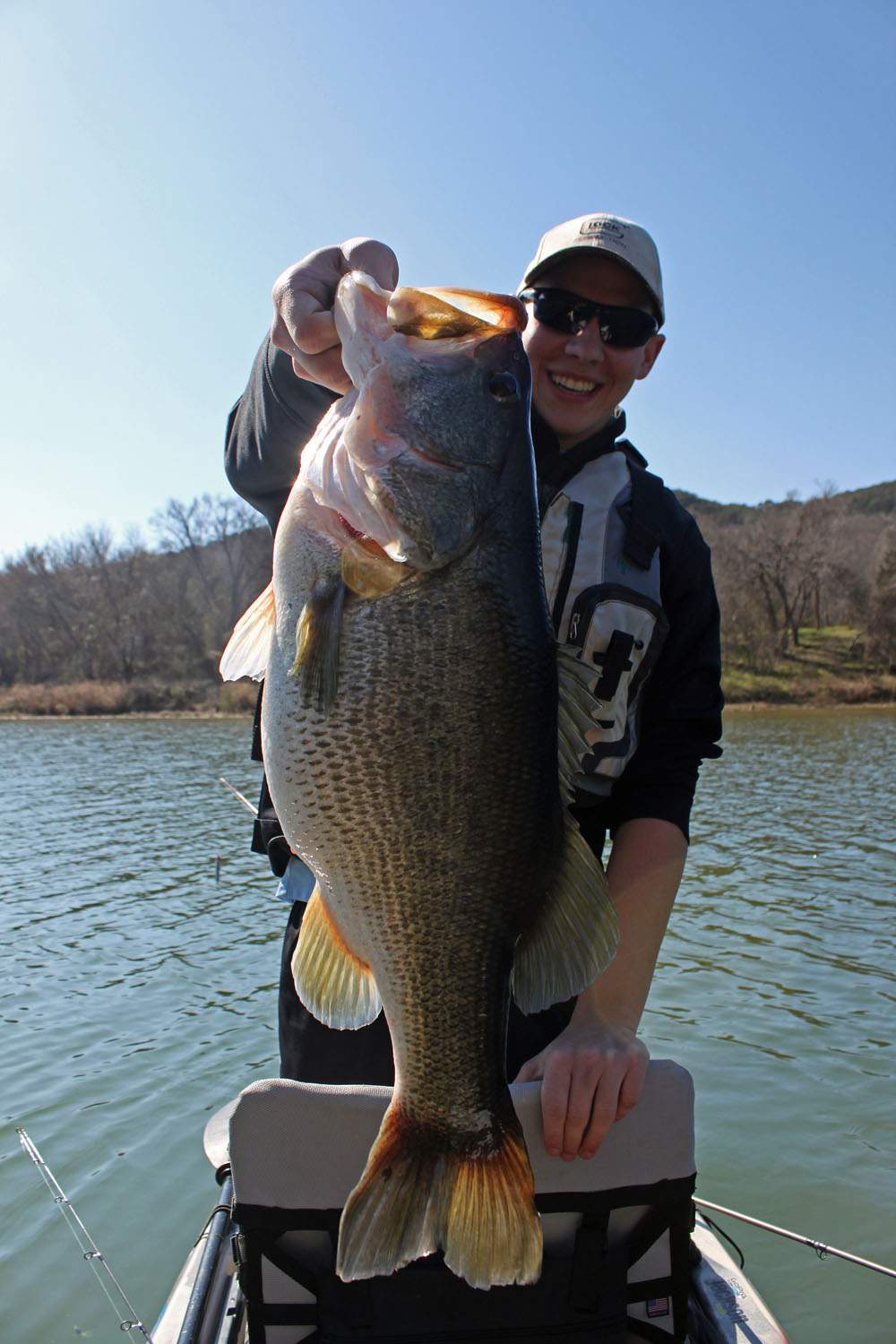 Brazos River Unofficial Record Largemouth BAss