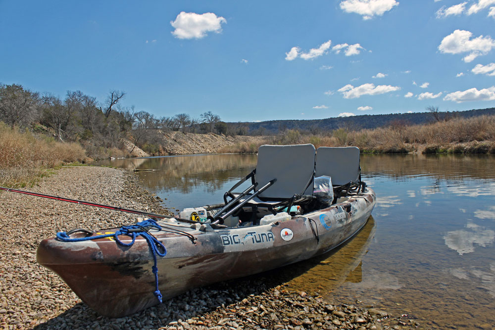 Jackson Kayak Big Tuna, Brazos River