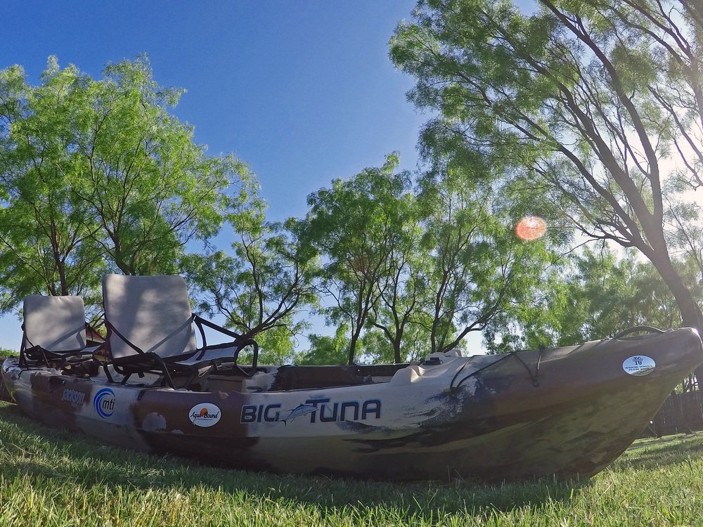 Jackson Kayak Big Tuna Shot with a GoPro Hero 4 Silver Edition
