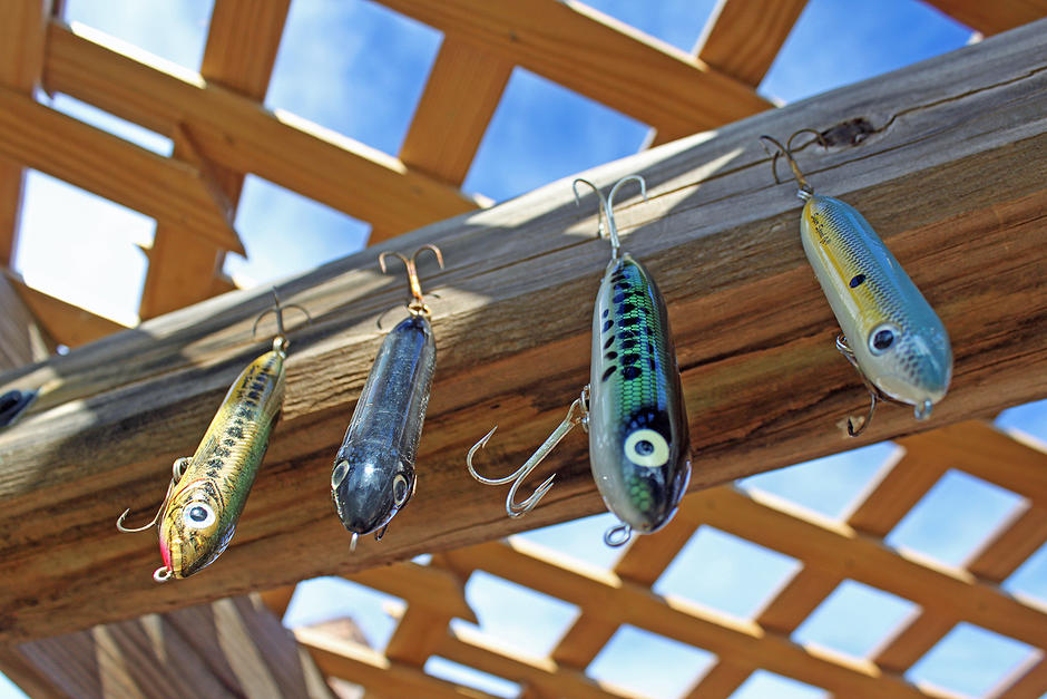 Heddon Zara Spook and Super Spook topwater lures