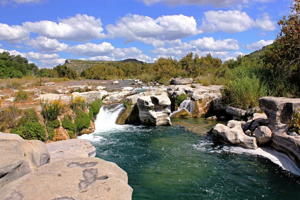 Dolan Falls, Devils River, Texas
