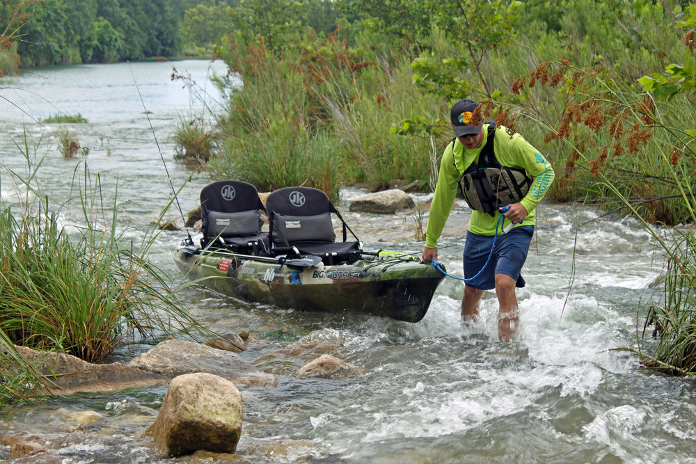 Clint Taylor Texas Kayak Fisher