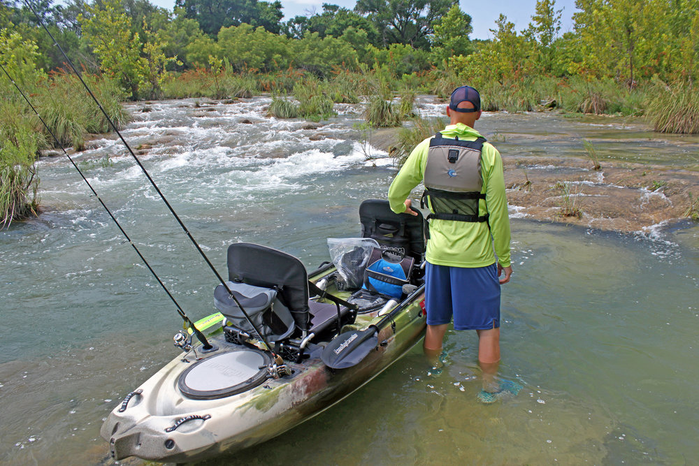 Clint Taylor Texas Kayak Fisher South Llano River
