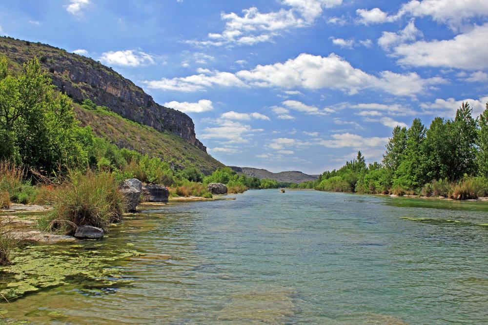 Devils River Scenery