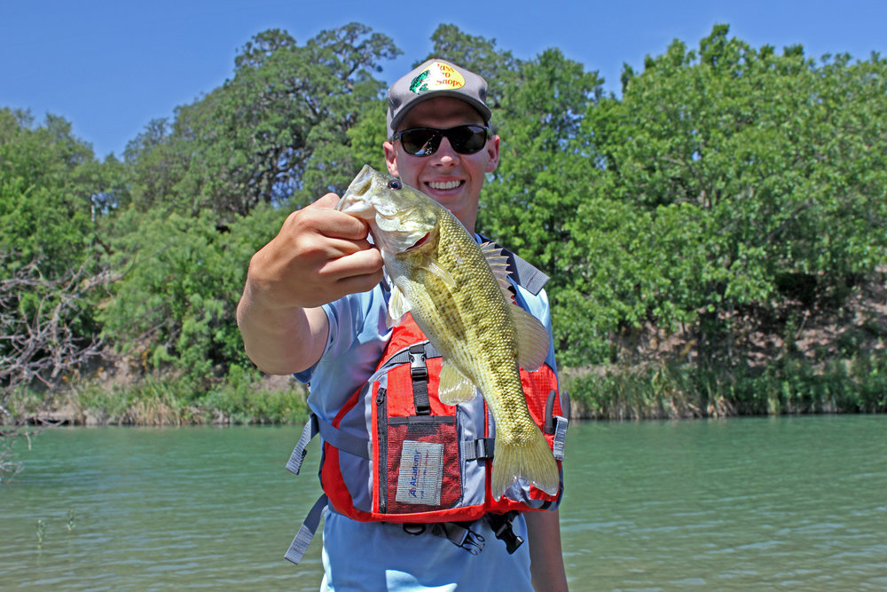 Clint Taylor Guadlaupe Bass South Llano River