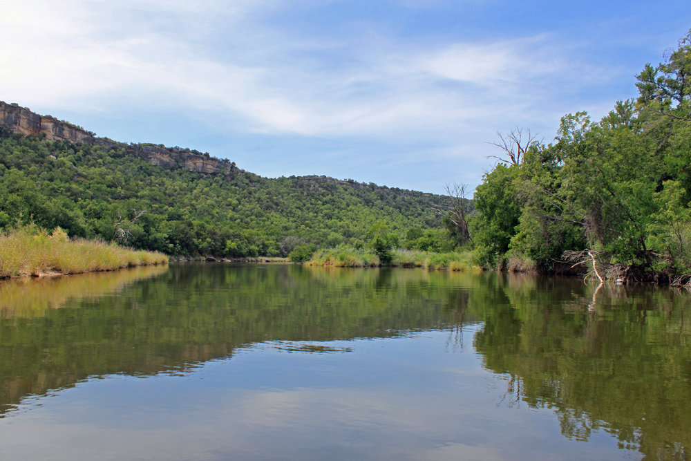 Brazos River below Possum Kingdom
