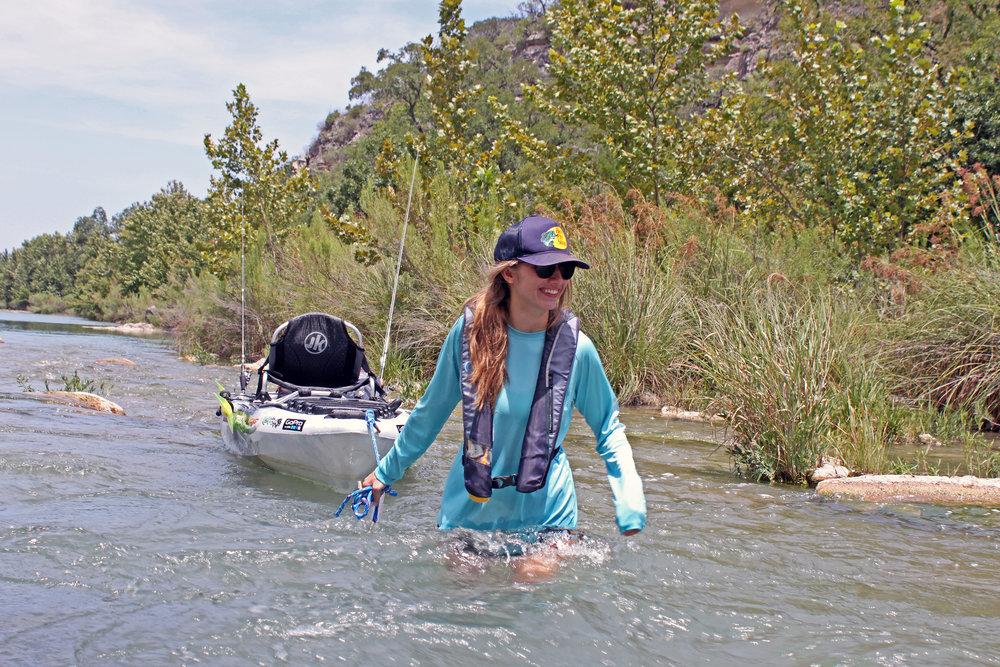 Kaitlyn and Clint Taylor Jackson Kayak Liska