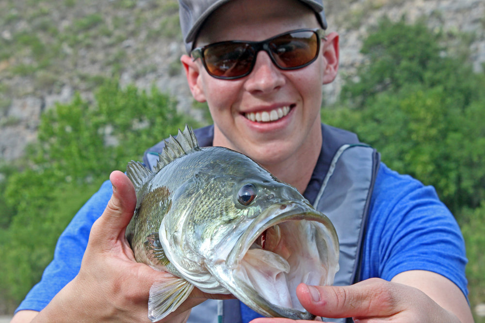 Clint Taylor Largemouth Bass on the Devils River