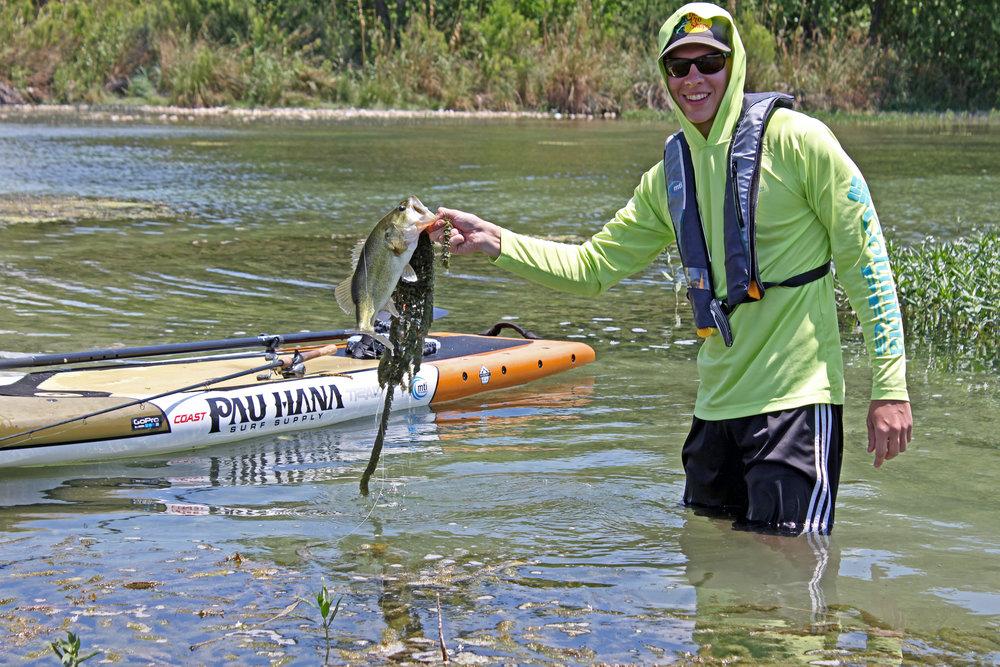 Clint Taylor Devils River Largemouth Bass with Pau Hana Endurance