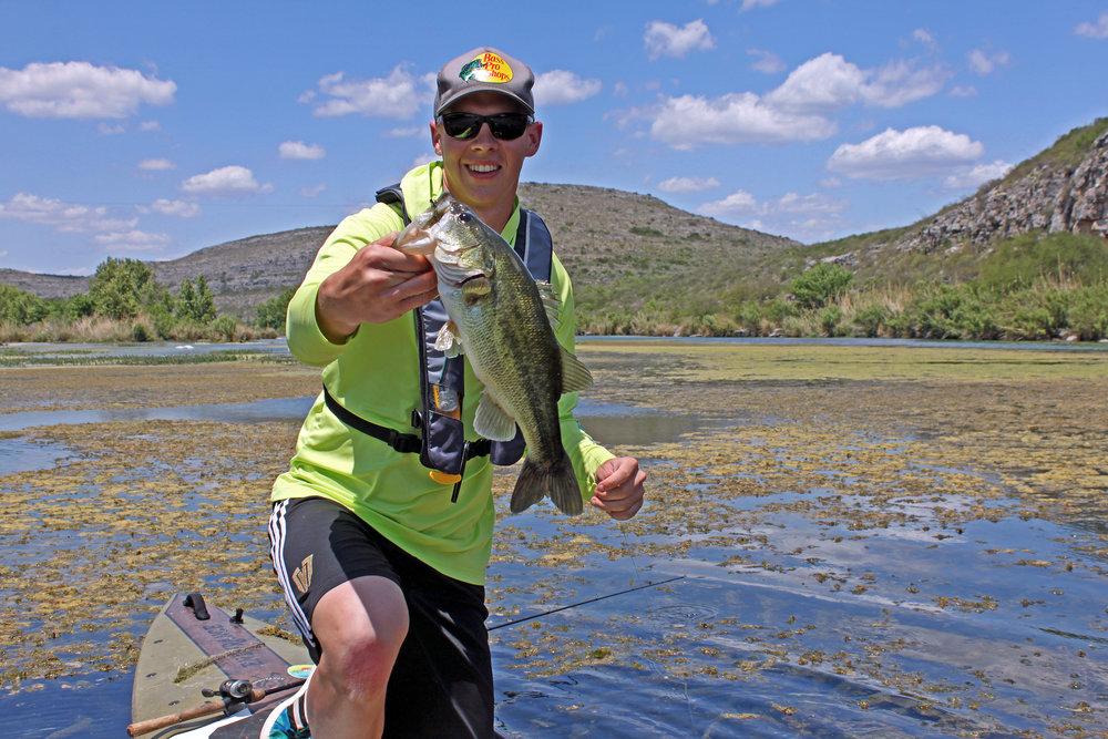 Clint Taylor Pau Hana Endurance Devils River Largemouth Bass
