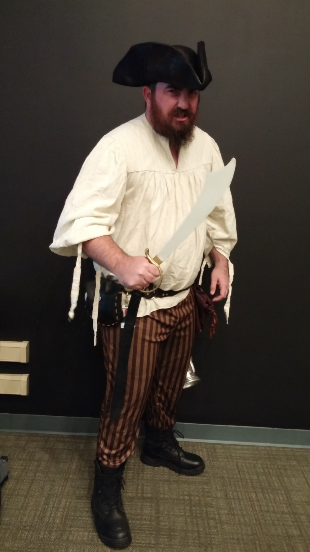 Dustin was a Pirate!