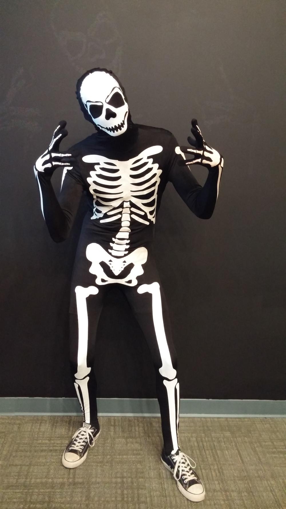Josh was a Skeleton