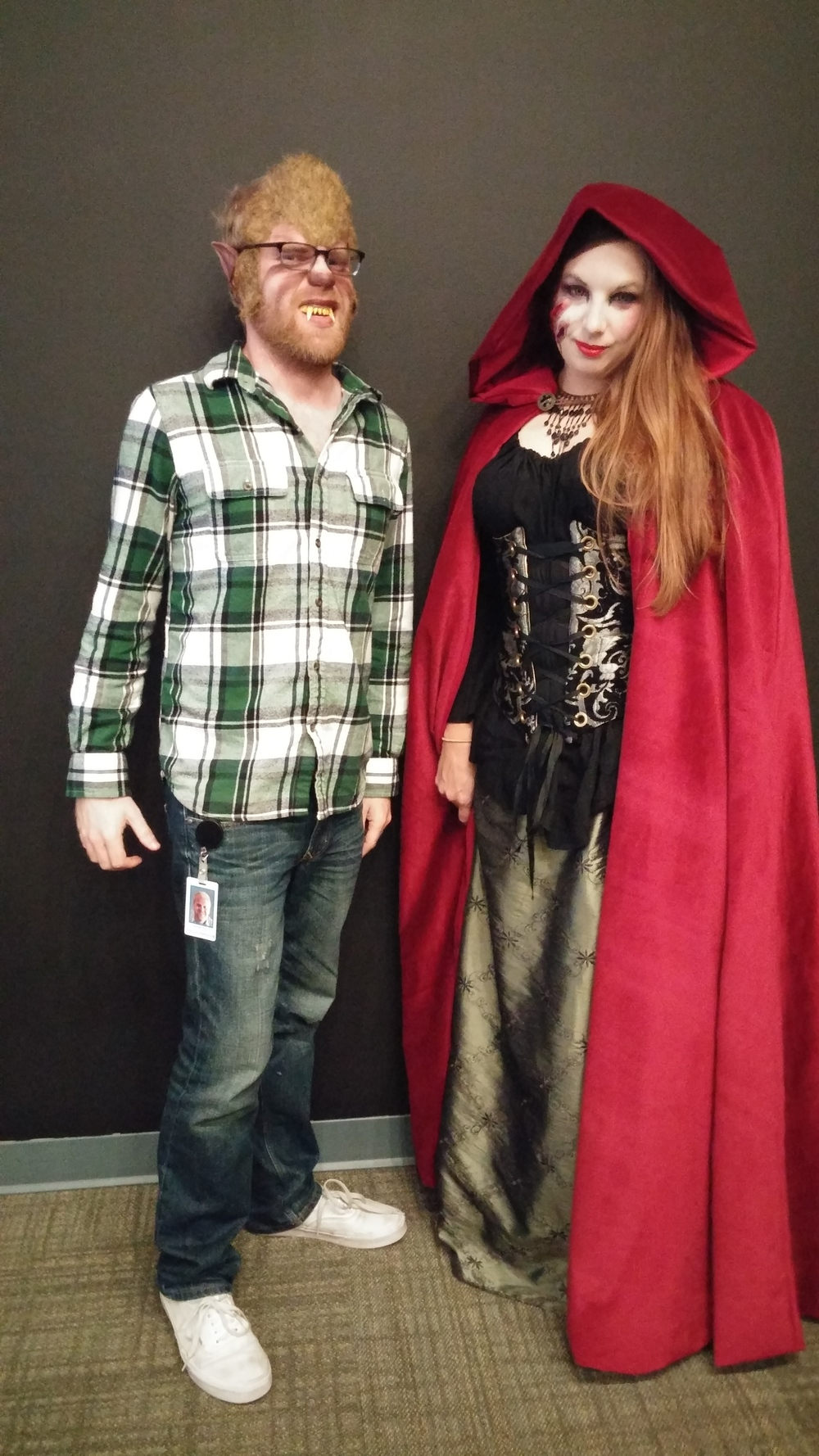 Red Riding Hood and the Wolf!