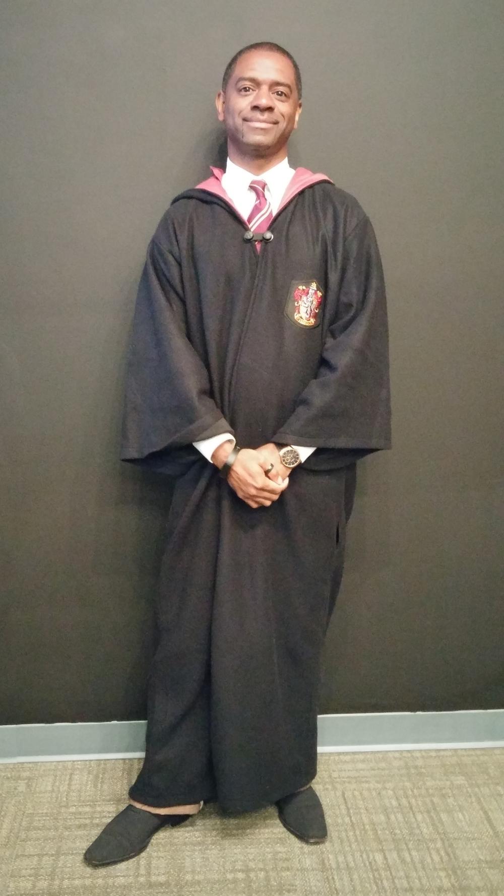 Carlton was a Hogwarts Student