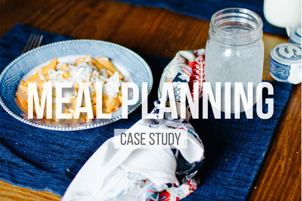 Meal Planning Case Study
