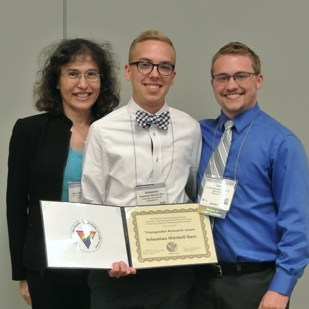 APA Division 44 Transgender Research Award (2014)