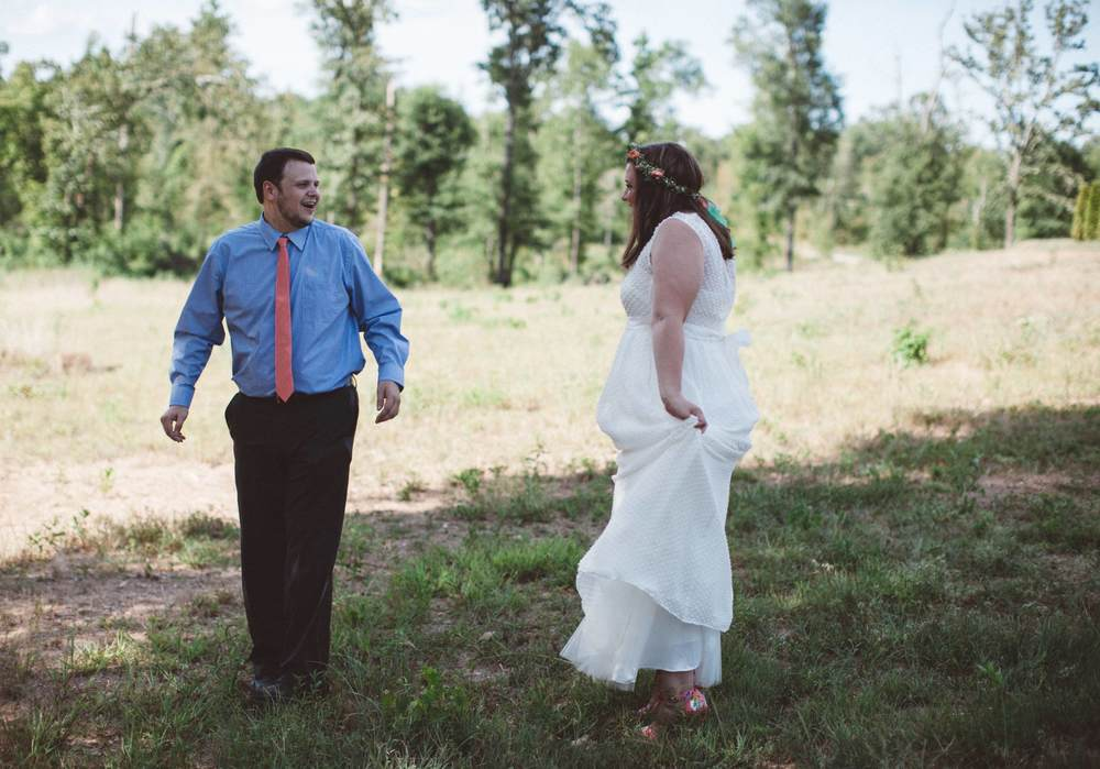 bright cherry arkansas wedding