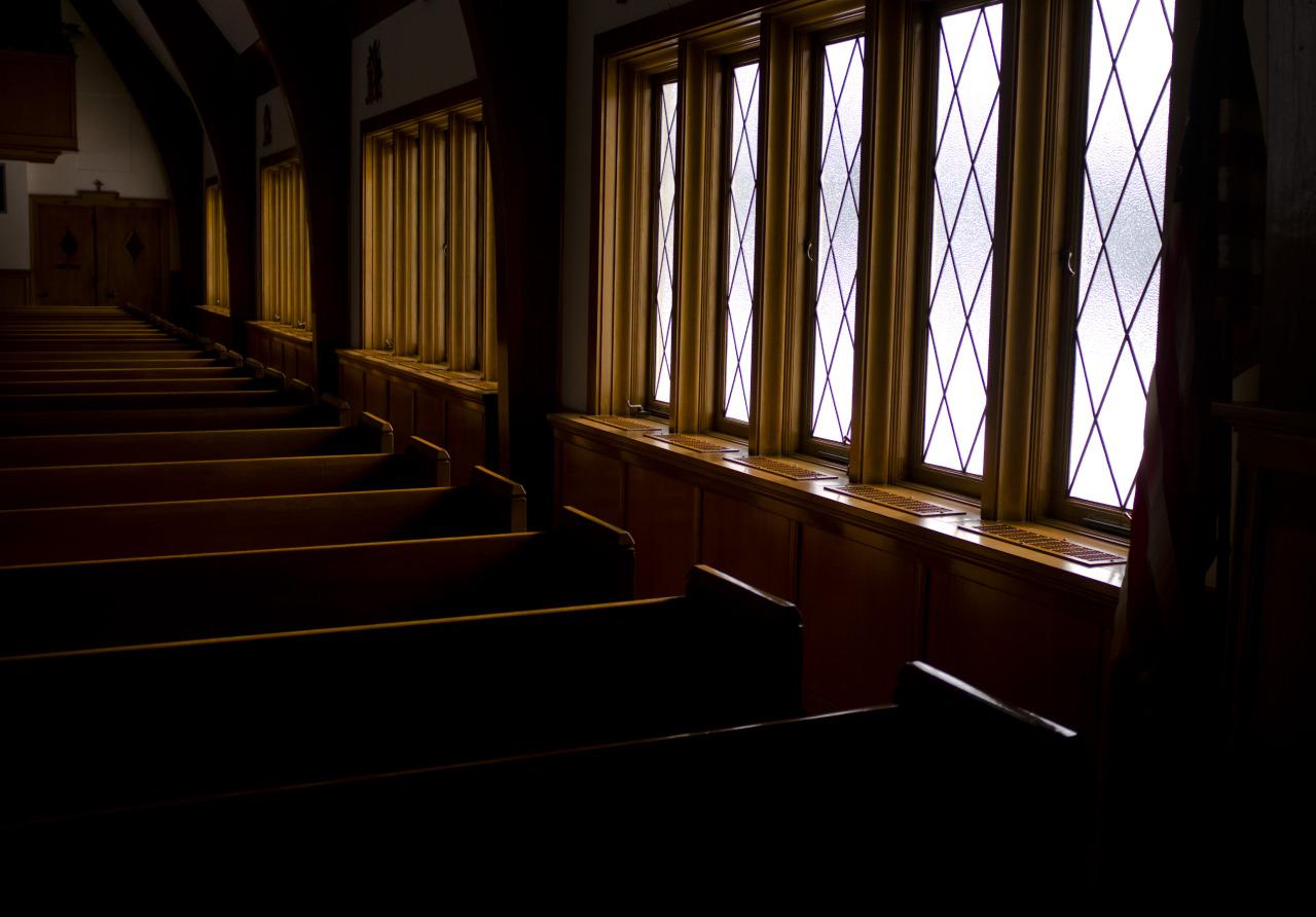 Church in Madison, Ohio. January 2014.