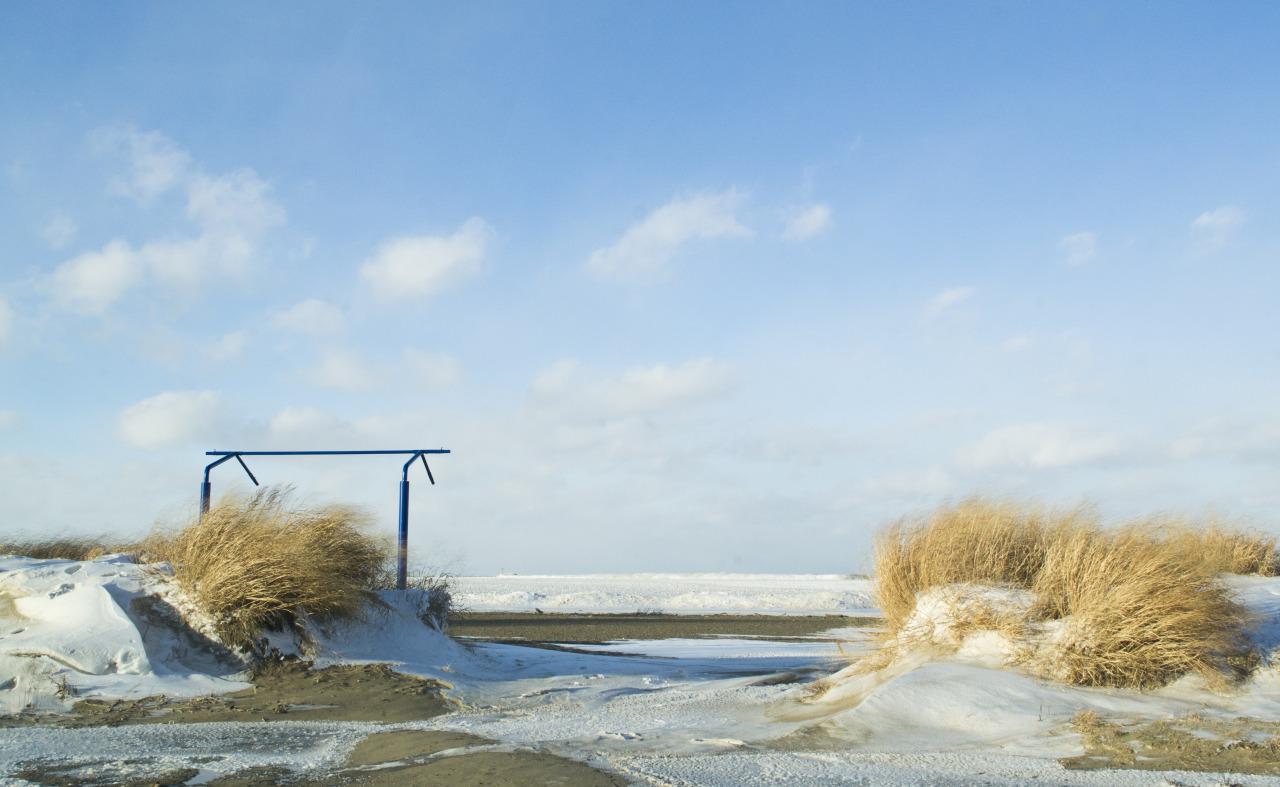 Fairport Harbor. January, 2014.