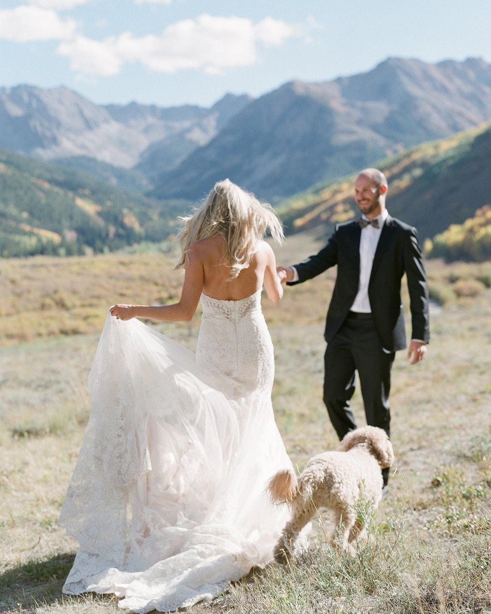 Ben & Laci - ASPEN CO- WEDDING