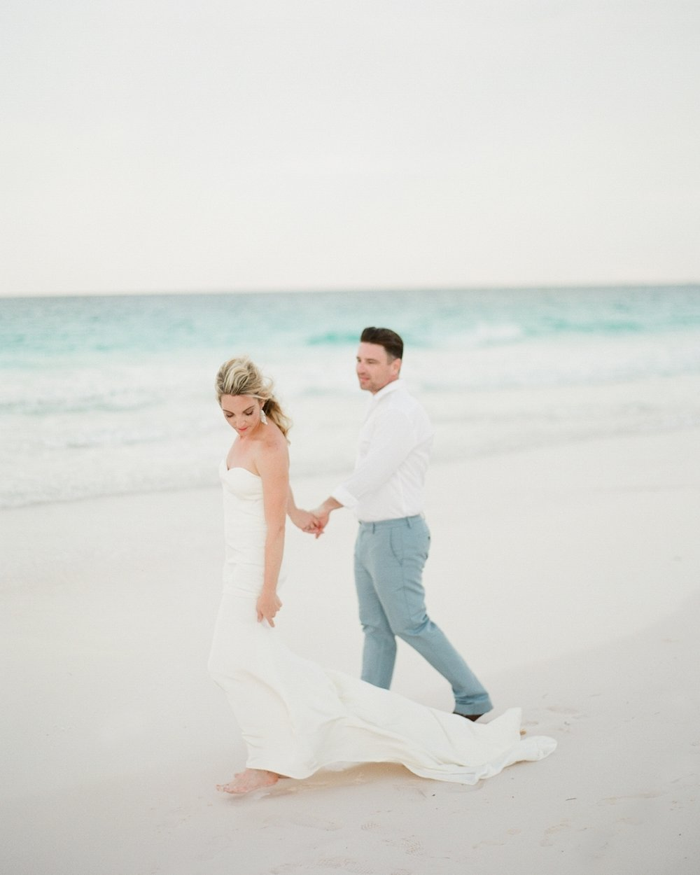 Daniel & Kate - HARBOUR ISLAN BAHAMAS- WEDDING