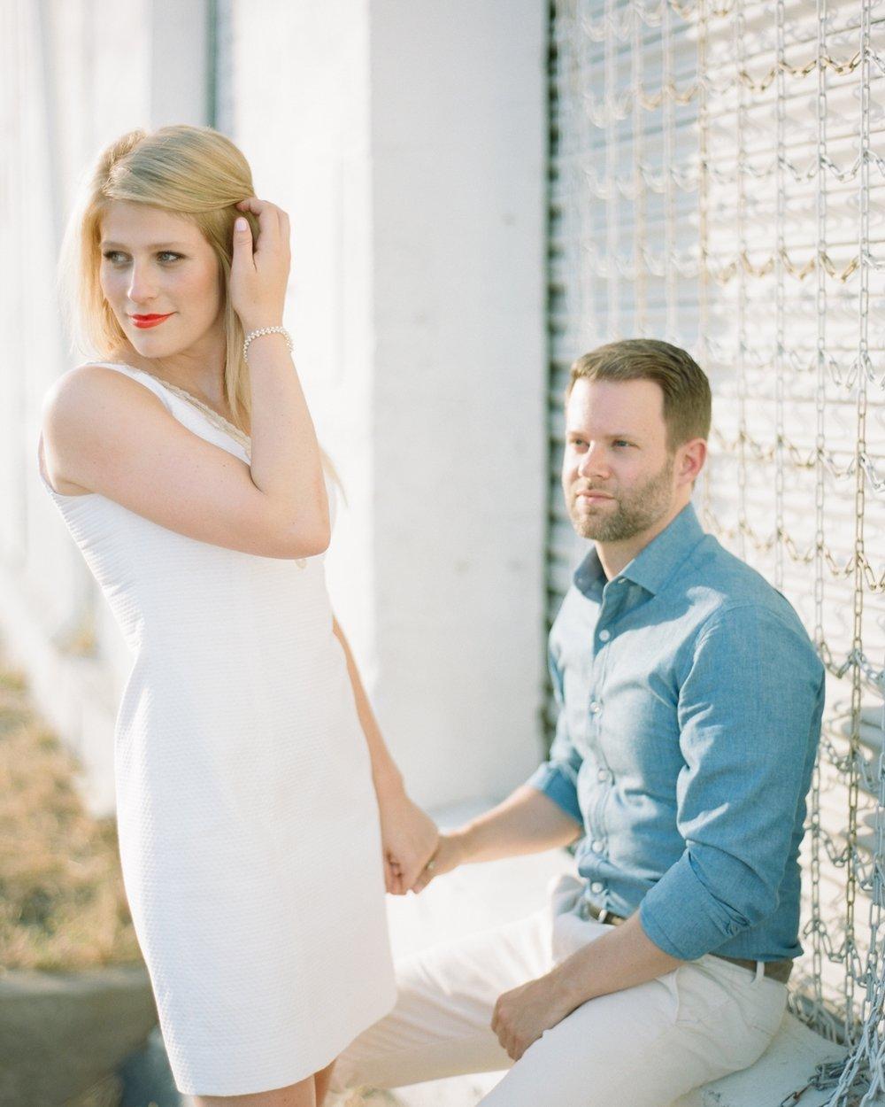 Drew & Sarah - DEEP ELLUM TX- ENGAGEMENT