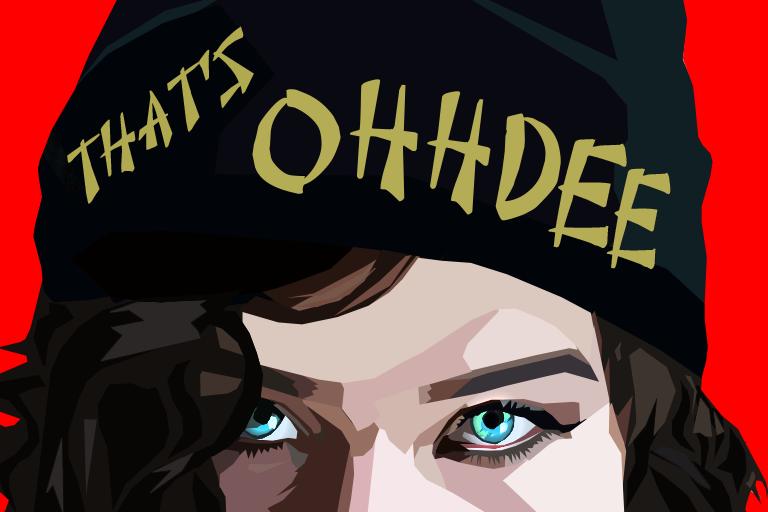 """That's Ohdee"" Brand portrait."
