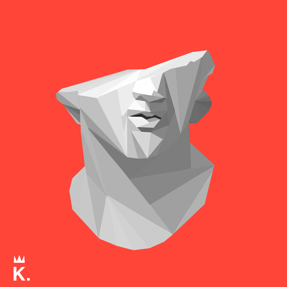 Low Poly Bust.