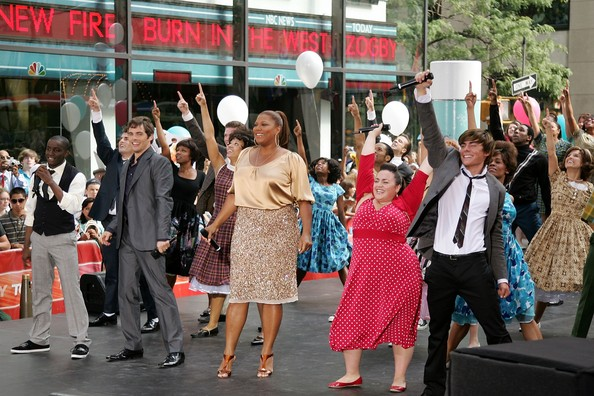 Hairspray Motion Picture on The Today Show - New York, NY