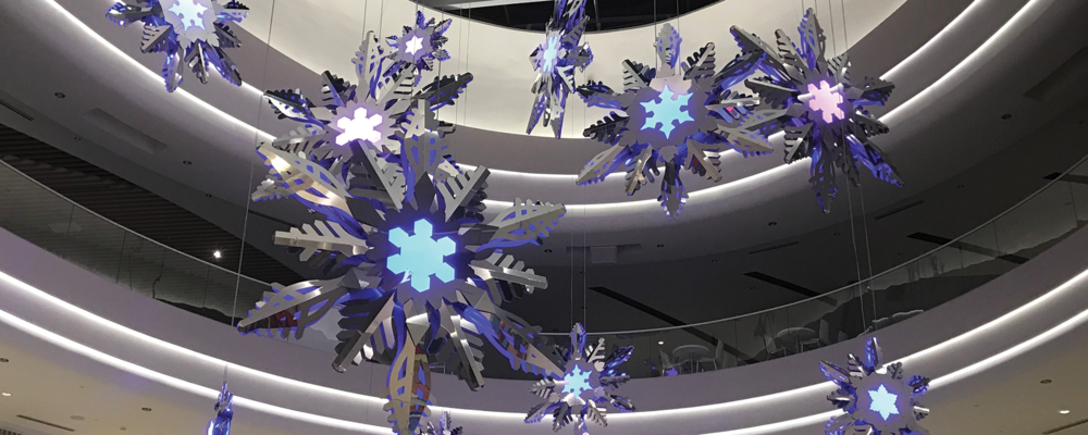 The Enchanted Snowflake Experience - Mall of America, MN