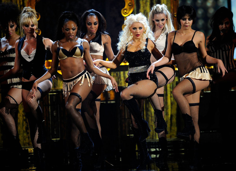 Burlesque Motion Picture Live Appearance on American Music Awards.jpg