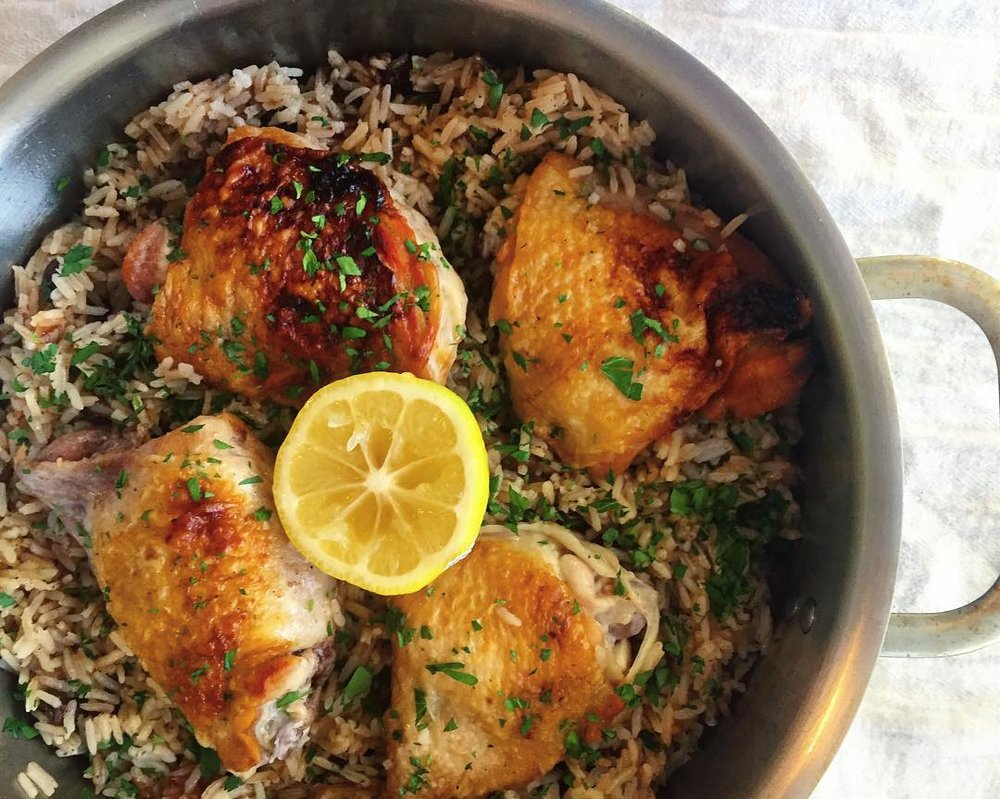 one-pot-meal-chicken-thighs-and-rice