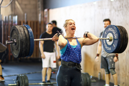 Recognize her??? Coach Holly made it onto the crossfit mainsite with this pic from @go_jeff_go on instagram @crossfitselect