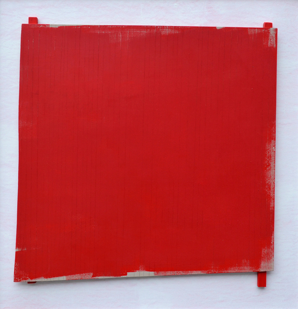 "Robert Christie, ""Red Placement (#1)"" The Gallery / Art Placement, Saskatoon"