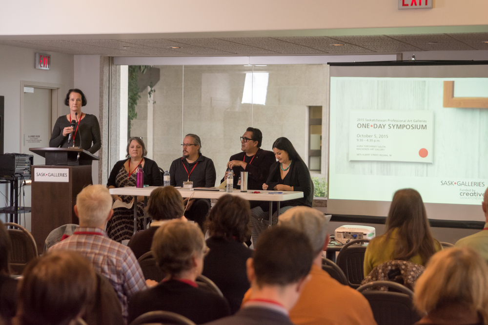 "SaskGalleries's Symposium, ""Articulations"", October 2015"